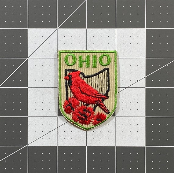Ohio - Vintage Patch for Jackets, Backpacks, Jeans