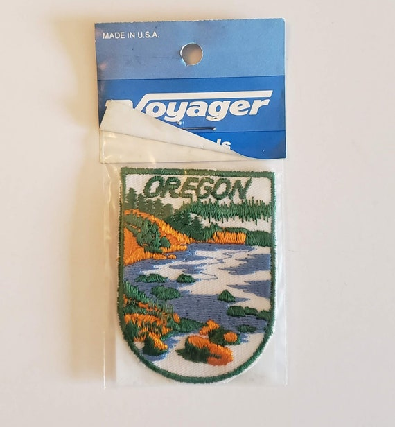 Oregon - Vintage Patch for Jackets, Backpacks, Jea