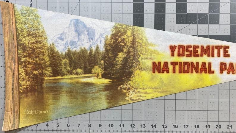 Yosemite National Park Vintage Pennant