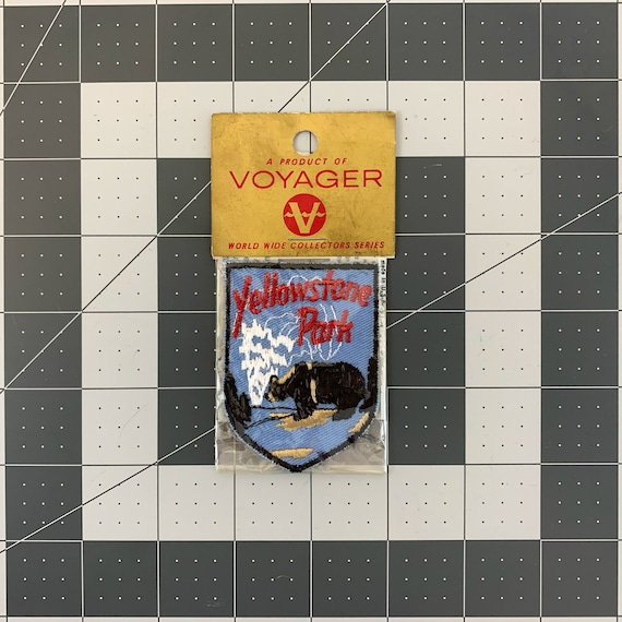 Yellowstone National Park - Vintage Patch for Jack