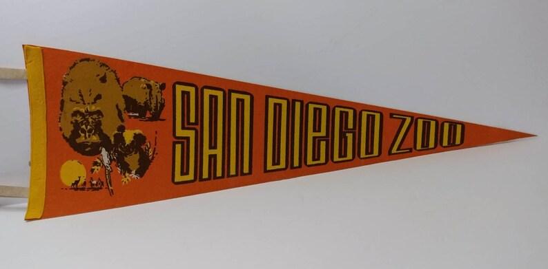 San Diego Zoo Vintage Pennant
