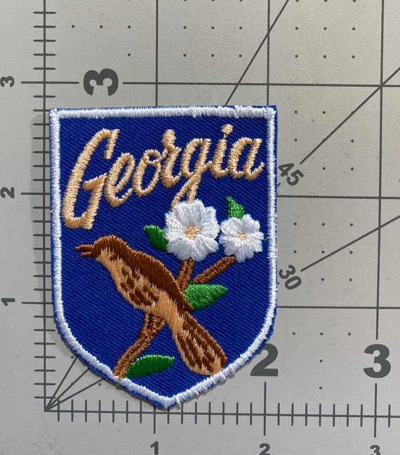 Georgia - Vintage Patch for Jackets, Backpacks, Je