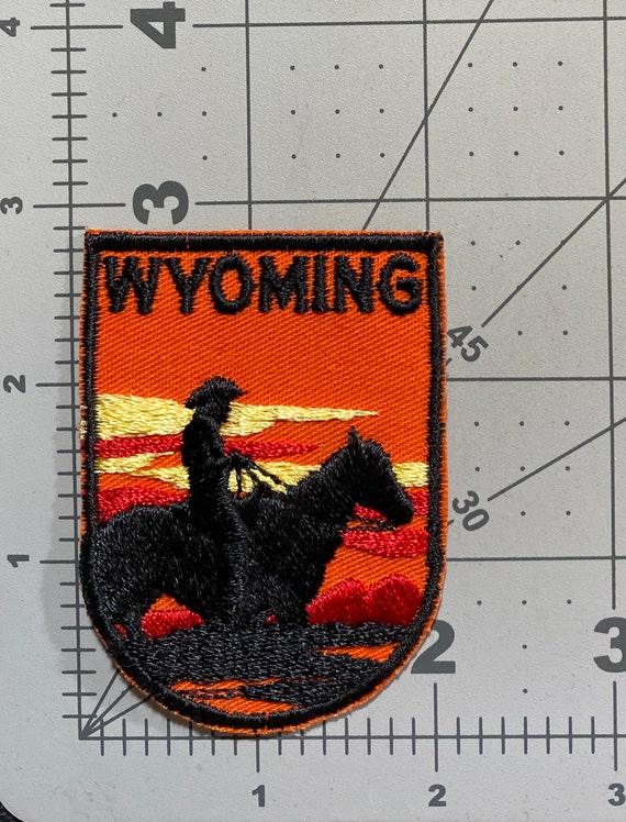 Wyoming - Vintage Patch for Jackets, Backpacks, Je