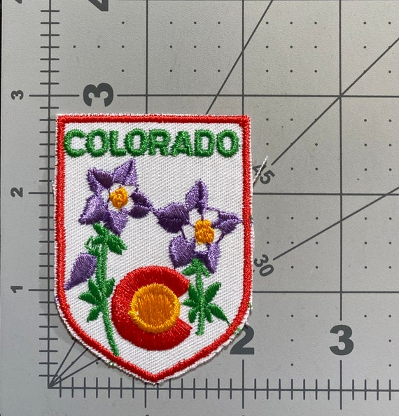 Colorado - Vintage Patch for Jackets, Backpacks, J