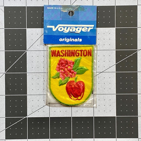Washington - Vintage Patch for Jackets, Backpacks,