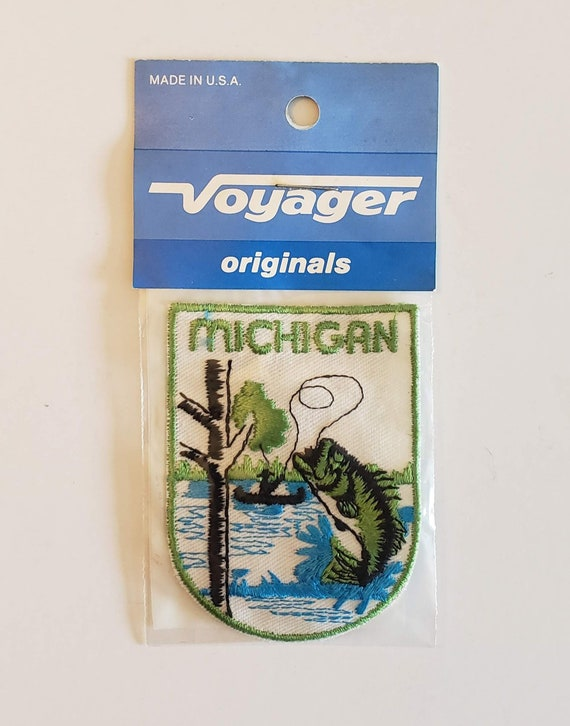 Michigan - Vintage Patch for Jackets, Backpacks, J