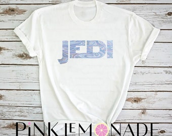 JEDI. STAR WARS. Jedi shirt. Jedi t-shirt.Disney shirt- Star Wars Shirt. Disney theme park  shirt. made by Pink Lemonade Apparel