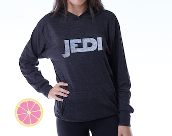 JEDI. STAR WARS. Jedi Hoodie. Disney Theme Park hoodie. Disney inspired.  Star Wars hoodie. Jedi hoodie Made by Pink lemonade apparel.
