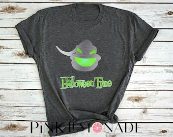 DISNEY HALLOWEEN TIME. Jack shirt. Nightmare Before Christmas.  Oogie Boogie shirt. Disney halloween . Disney shirt Pink Lemonade Apparel