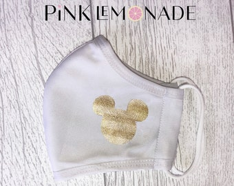 Mask. Face Mask Washable Face Mask, Face Mask with filter.  Adult Face Mask made by Pink Lemonade Apparel