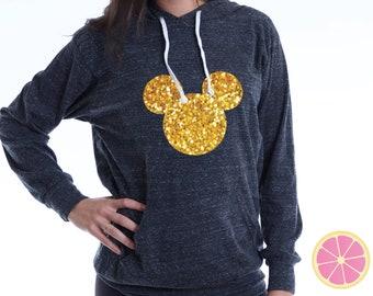 Mickey Hoodie. disney hoodie. Princess hoodie. Light Weight Hoodie. Made by Pinklemonadeaapparel.