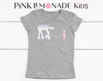 PRINCESS LEA.LEA Kids T-shirt. Disney kids shirts.Star Wars kids shirts. Princess Lea shirt.Kids Disneyland shirt. Pink Lemonade Apparel