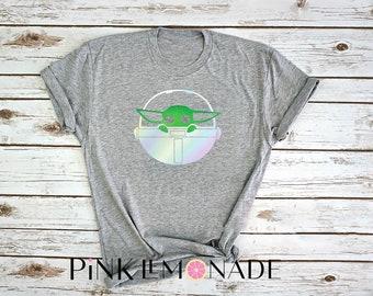 Baby Yoda. Star Wars. Yoda T-Shirt. Baby Yoda  t-shirt. Disneyland Star Wars. Disney t-shirt. made by Pink Lemonade Apparel