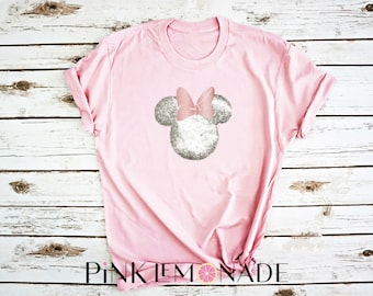 Minnie T-Shirt. theme park inspired T-shirt. Disney shirt made by Pink Lemonade Apparel