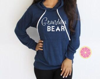 Grandma Bear hoodie. Mama Bear Pink Lemonade Hoodie. Light Weight Hoodie. Made by Pinklemonade.net
