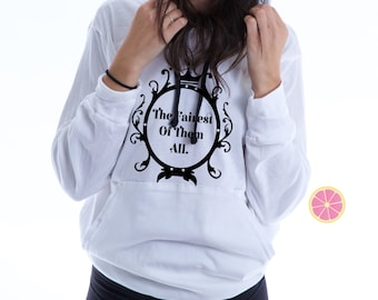 The fairest of them all Disney hoodie.Pink Lemonade . Mirror Mirror Light Weight Hoodie. Made by Pinklemonade.net