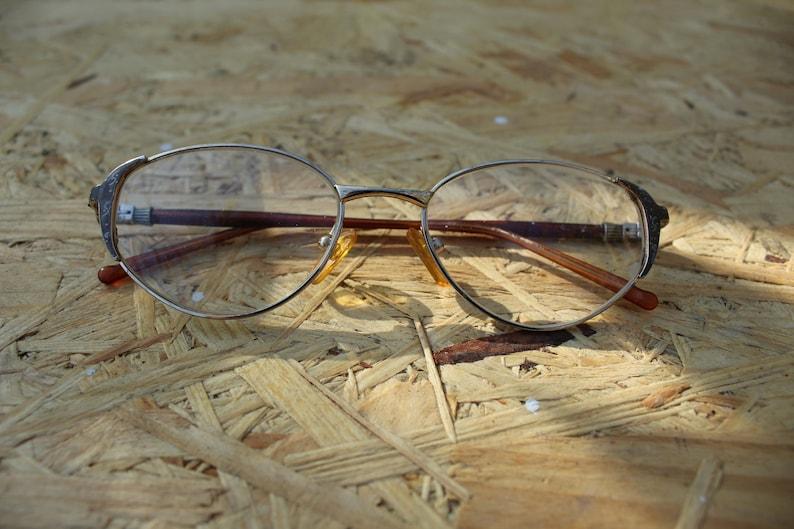 e29313fed03 Vintage Eyeglasses Retro Glasses Plastic Frame Old Authentic Reading Glass  Grand... Vintage Eyeglasses Retro Glasses Plastic Frame Old Authentic  Reading ...