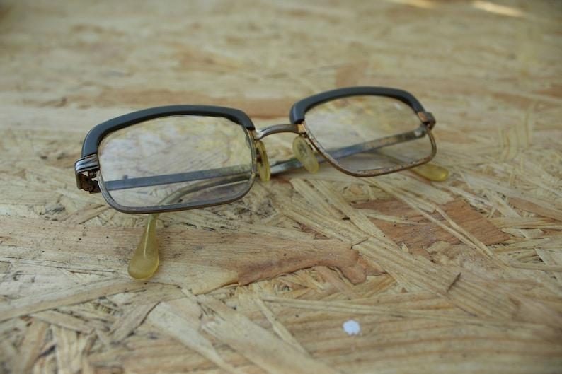 25445c03dfa Vintage Retro Glasses With Plastic Frame Old Eyeglasses