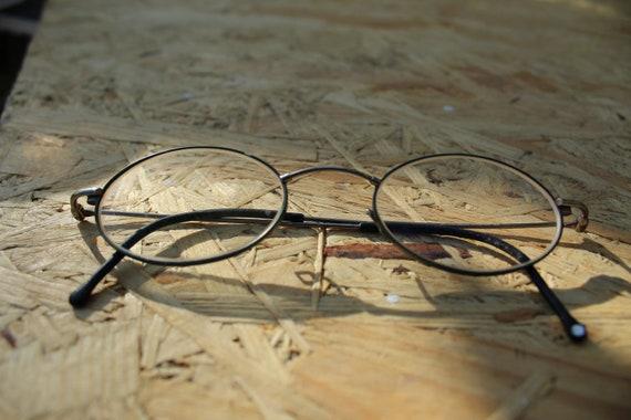 eca78e7825 Vintage Eyeglasses Round Frames Small Glasses Grandma Eyewear