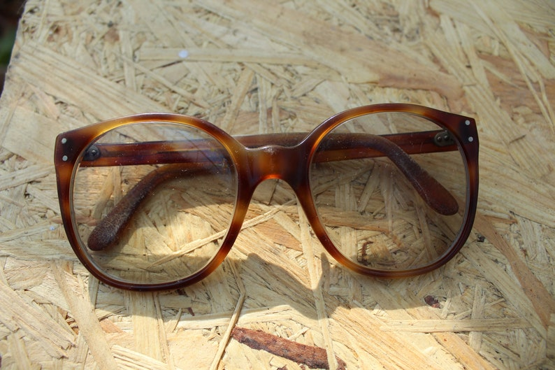 39debb0c8de Vintage Eyeglasses Retro Glasses Plastic Frame Old Eyeglasses