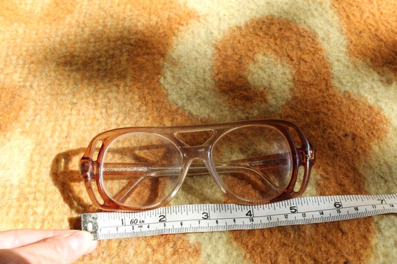 Vintage Eyeglasses Retro Glasses Plastic Frame Old Eyeglasses Reading Glass Grandma Glasses Grandpa Glasses Retro Gift Brown Gold Eyeglasses
