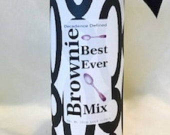 Best Ever Brownie Mix - Wrapped Tube
