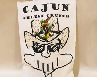 Cajun Cheese Crunch - Printed Bag