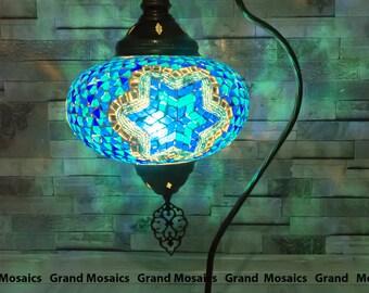 Mosaik türkische lampen türkische lampen stehlampen etsy