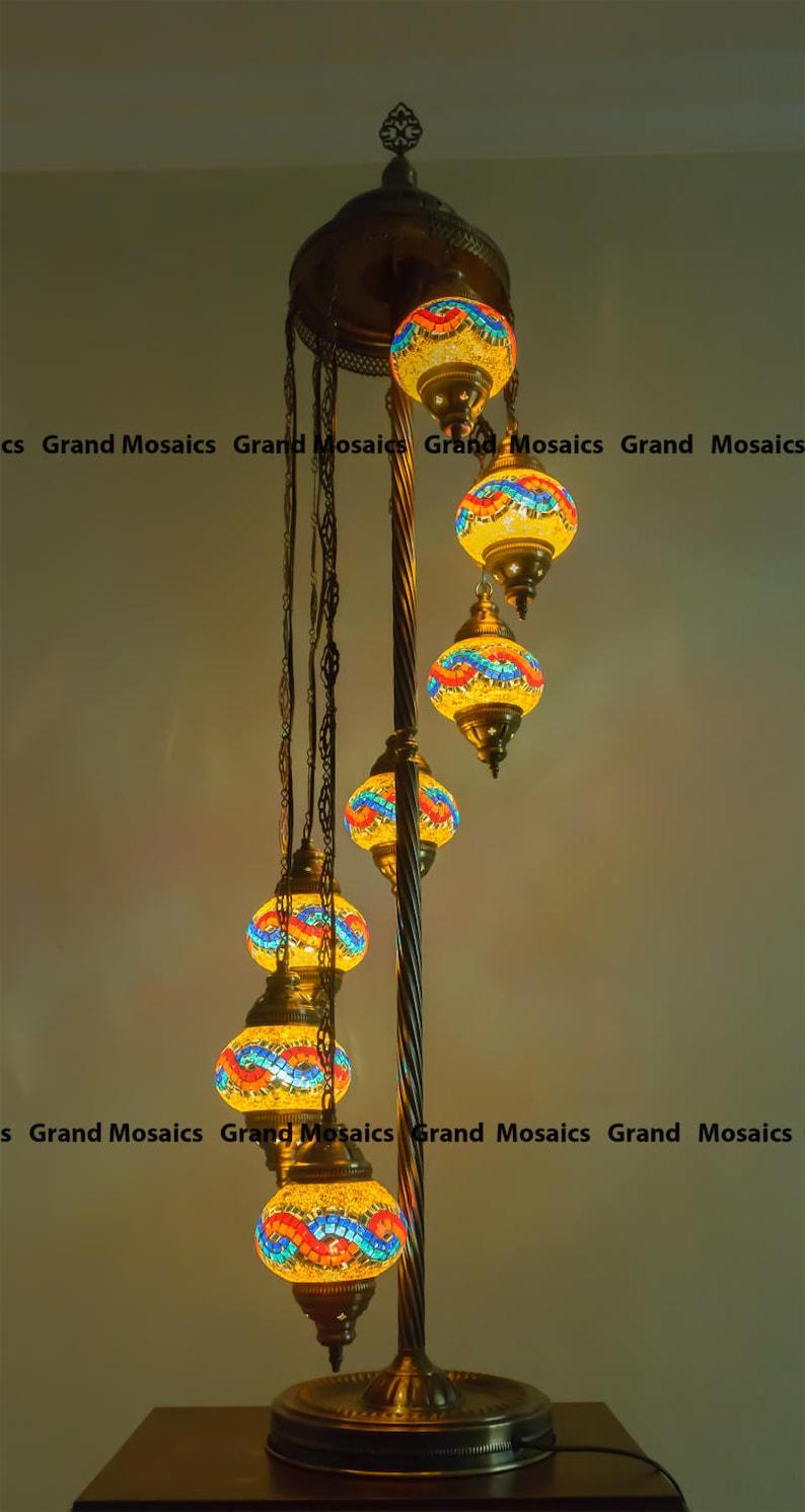 Floor lamps,mosaic Turkish lamps,modern floor lamp,agate nightlight,unique light fixture,mason jar lantern,agate night light,lampshades