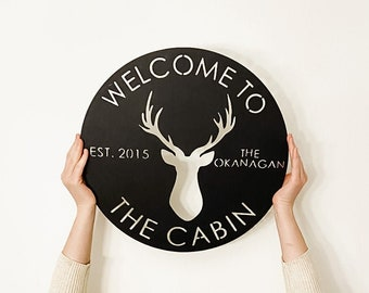 """15"""" Round Custom Sign 