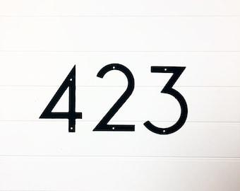 Metal House Numbers   modern house numbers   ***READ DESCRIPTION***  simple   minimalist   individual