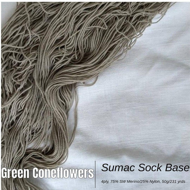 Green Coneflowers Yarn