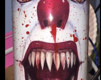 Pennywise, Stephen King IT, Clown Tumbler