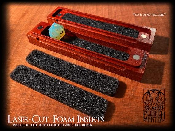 Laser Cut Foam Inserts for Eldritch Arts Dice Boxes (4pcs)