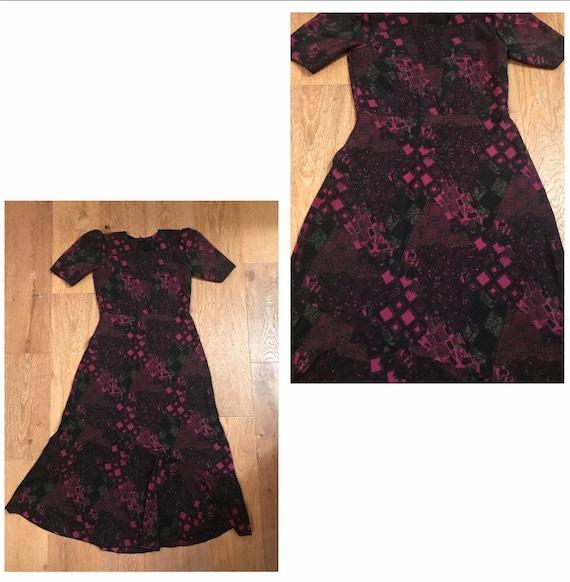 Vintage A-Line floral Dress