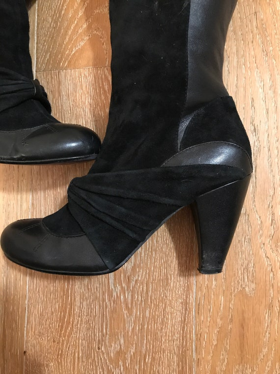 VTG 1980's Slouch Leather Boots