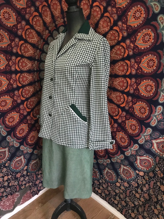 Vintage 1960's Two Piece CLINGFIT Suit - image 9