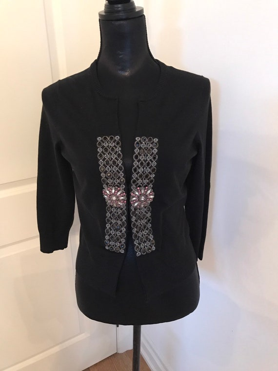 VTG gorgeous BEADED Cardigan