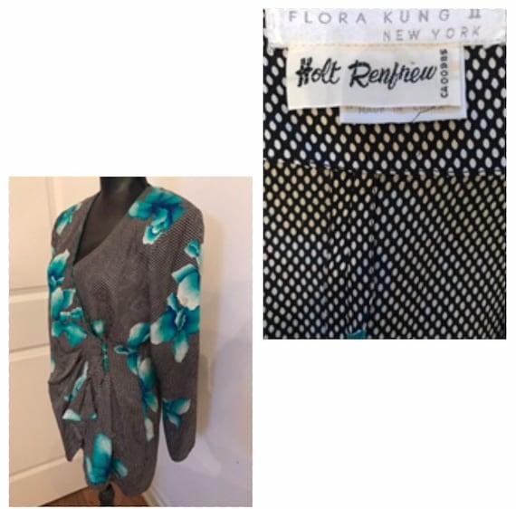 HOLT RENFREW Flora Kung Silk Blouse