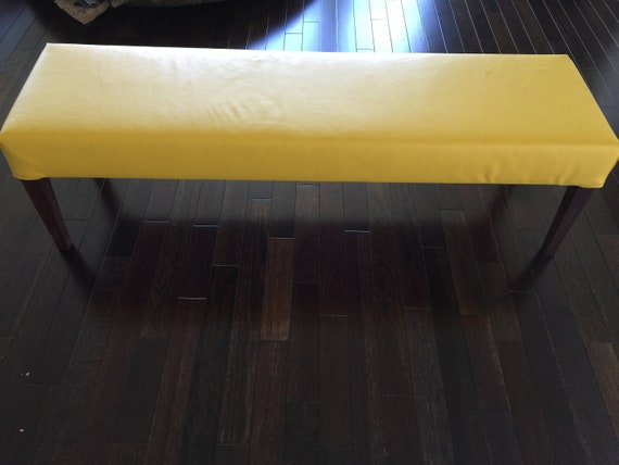 Leather Dining Bench