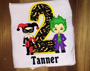 Joker Birthday Etsy
