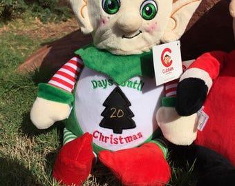 Elf Cubbie Christmas Countdown