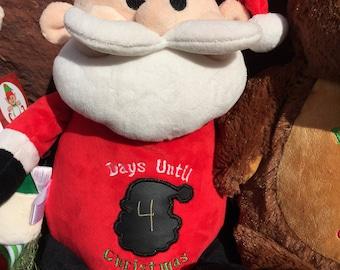 Santa Cubby Christmas Countdown