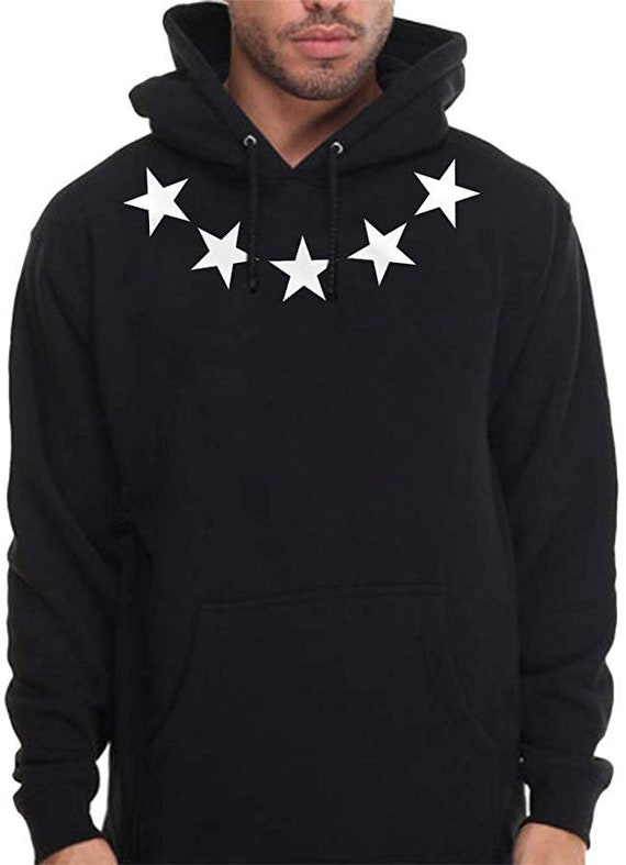 Mens Urban wear Stars Hoodie NY Hip Hop Clothing Pullover Sweatshirt
