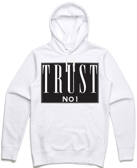 Trust No One Adult Hooded Sweatshirt