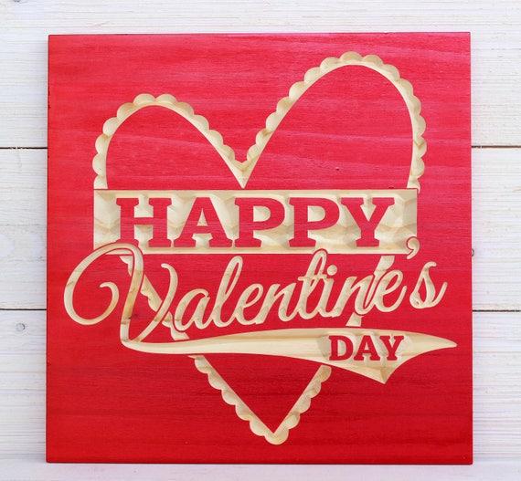 Happy Valentine S Day Valentines Day Gifts Valentines Etsy
