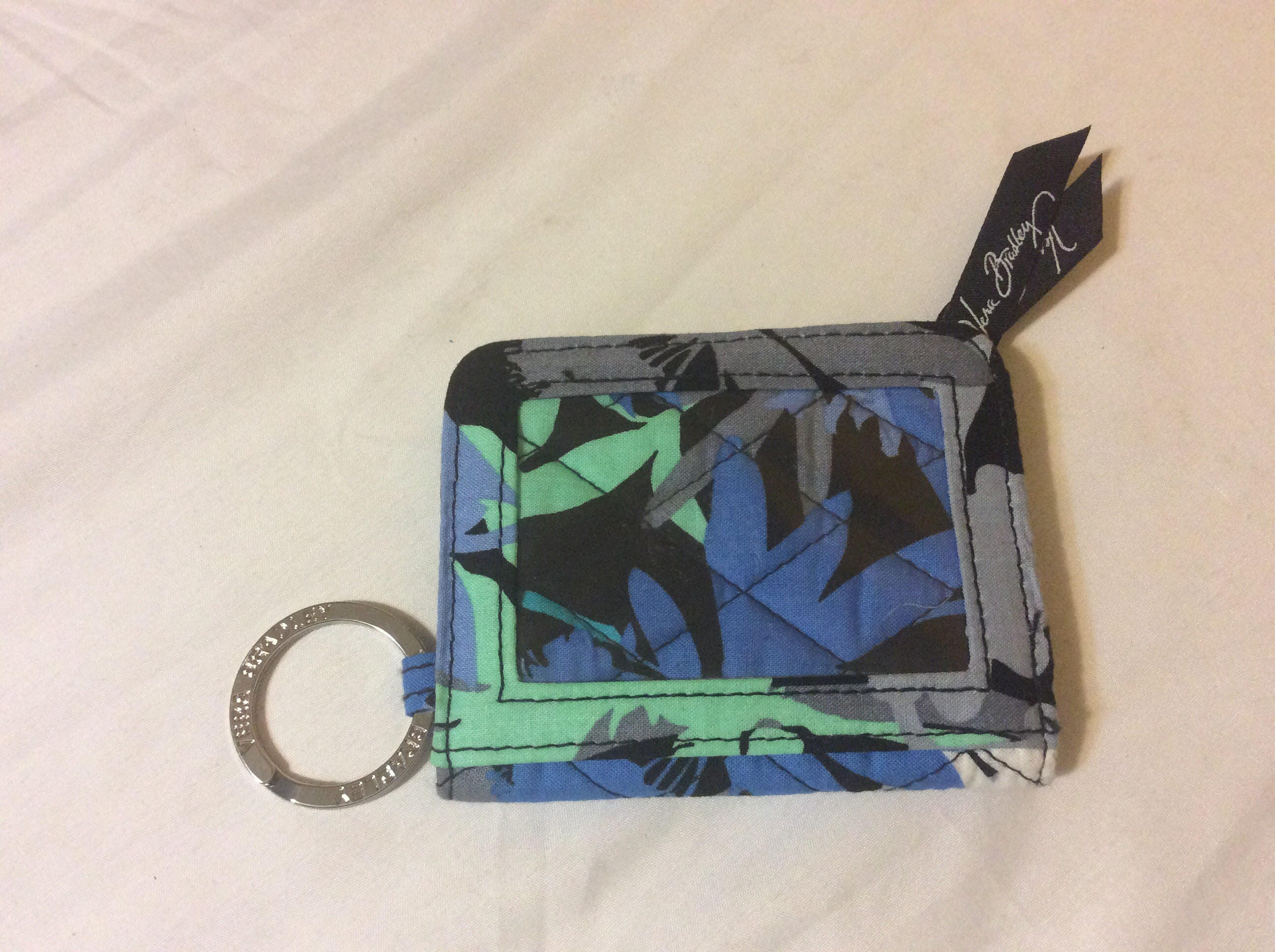 Retired Vera Bradley Keychain Change Purse In Camofloral Etsy
