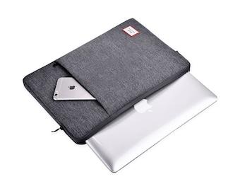 Laptop Bag 13 Inches, Laptop Case, Macbook Pro 2017 13 Case, Laptop Case, Macbook Pro Sleeve, Macbook Air Hard Case, Dark grey, K55