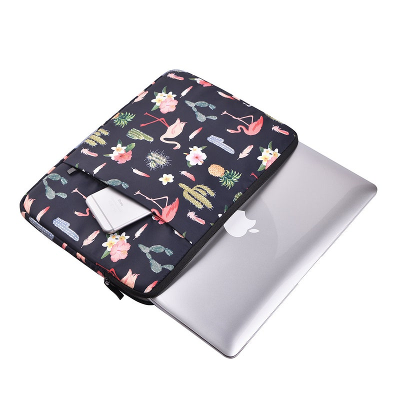 new style f989e 9bc17 Laptop Sleeve 13 -15.6 Inch, Macbook New Air 13 Inch Sleeve 2018, Macbook  Pro 13 Inch Sleeve,New Macbook Air Sleeve, Laptop Case,Flamingo