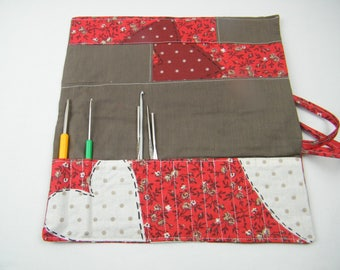 Case for hooks, hooks, storage for hooks customizable, accessory craft case.